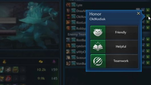Honor lol 1